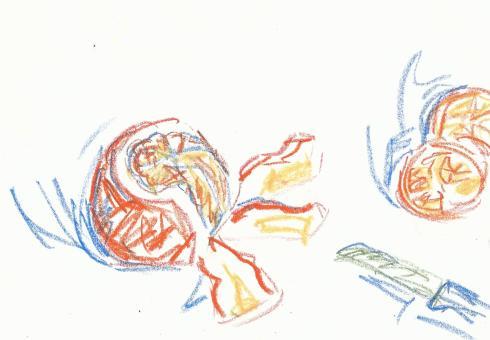 orange, peeling 2
