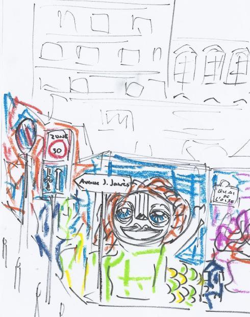 canal de l'ourcq, da cruz graffiti