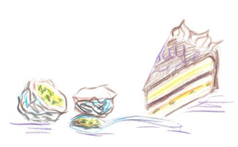 passionfruit torte 1
