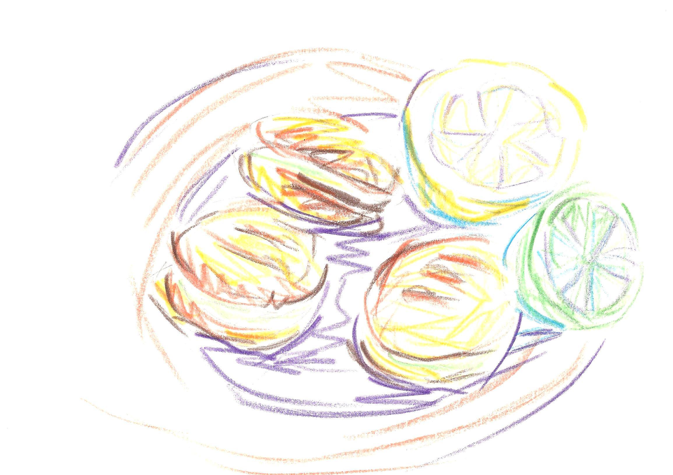 lemon | tangerine drawings