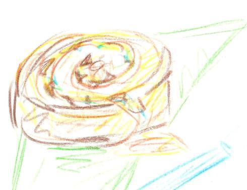 pecan snail scones