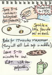 spring, obsessive cookie instructions