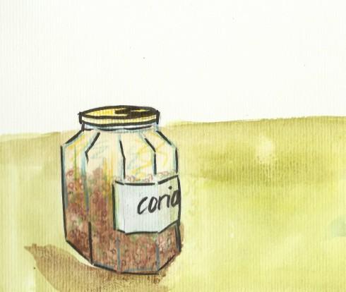 coriander jar