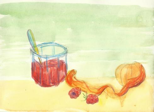 raspberry tangerine jam